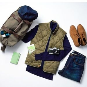 Goodfellow Standard Fit Quilted Vest